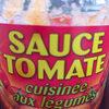 sauce tomate cuisinée aux légumes - Product