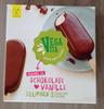 Veganes Eis Schokolade ❤ Vanille aus Lupinen - Produkt