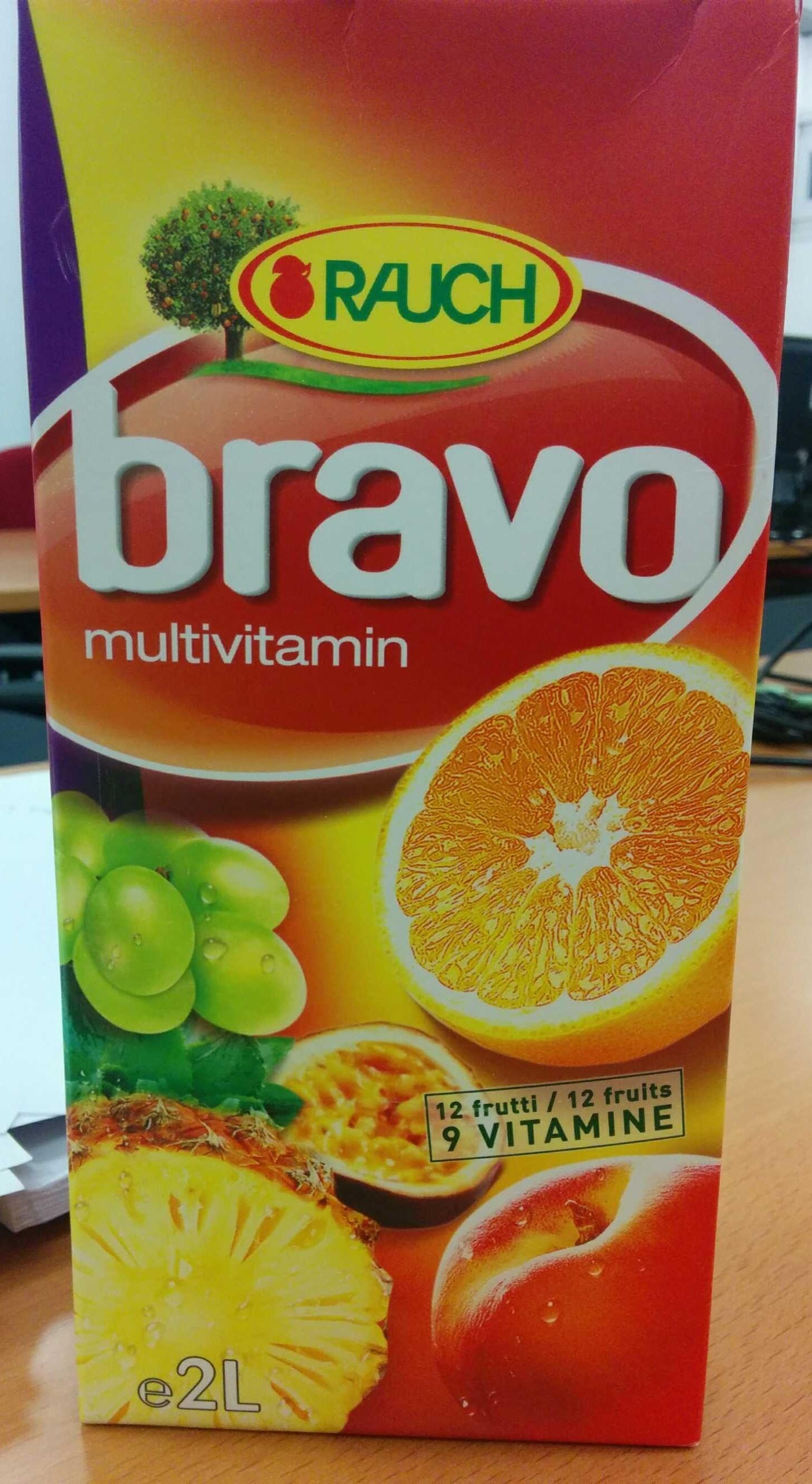 Bravo multivitamin - Product