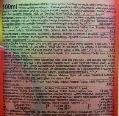 Bravo multivitamin - Nutrition facts