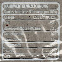 Mini Schnecke Schoko - Nutrition facts