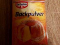 Backpulver - Produit - de