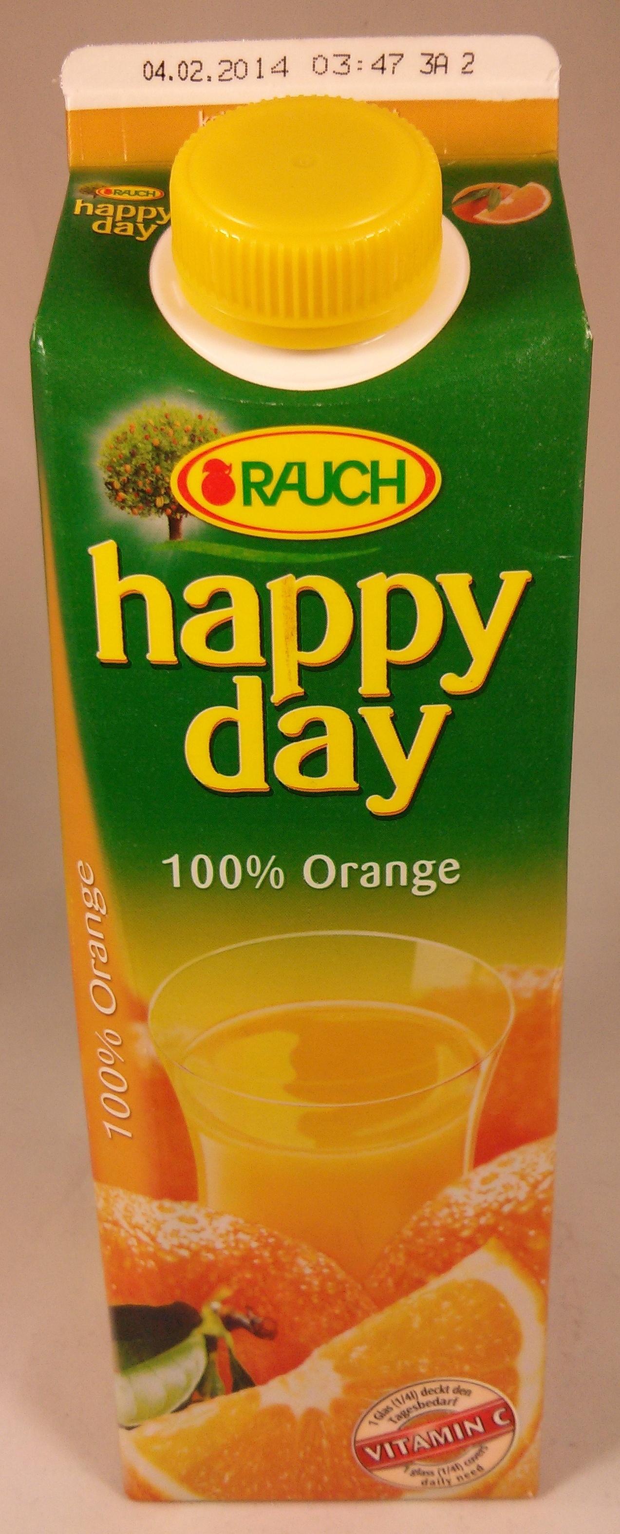 Happy Day 100% Orange - Produkt - de