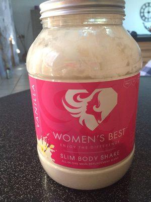 Slim body shake Vanilla - Produit