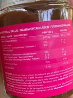 Protein Creme, Chocolate - Valori nutrizionali - fr