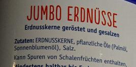 Jumbo Erdnüsse - Ingredienti - de