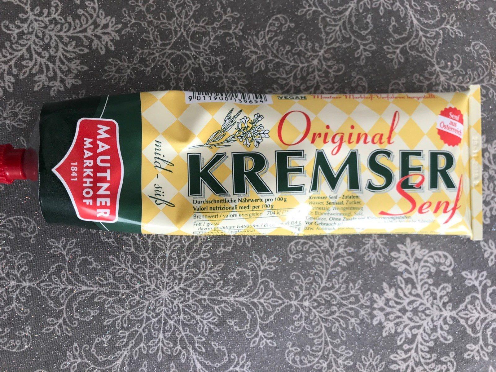 Kremser Senf Mild süß - Product - fr