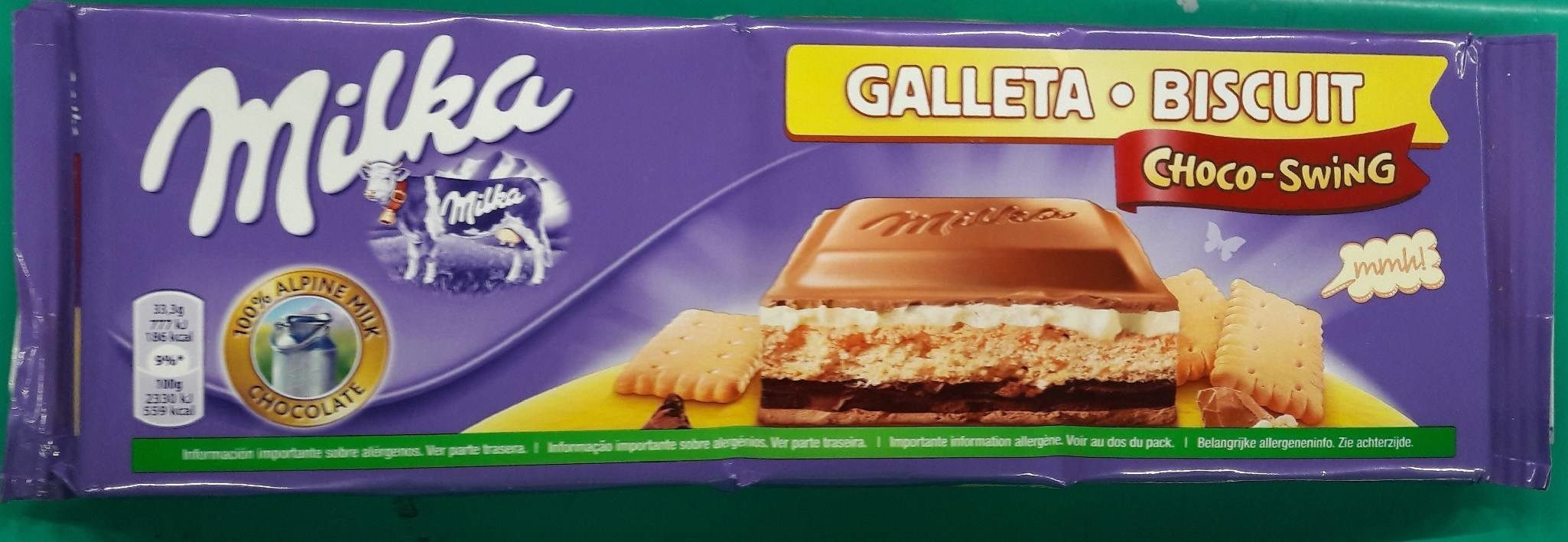 Galeta • Biscuit Choco-Swing - Producto