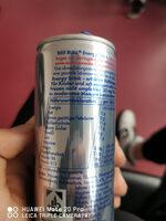 Red Bull - Nährwertangaben - de