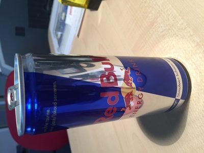 Red Bull Energy Drink - Ingredients