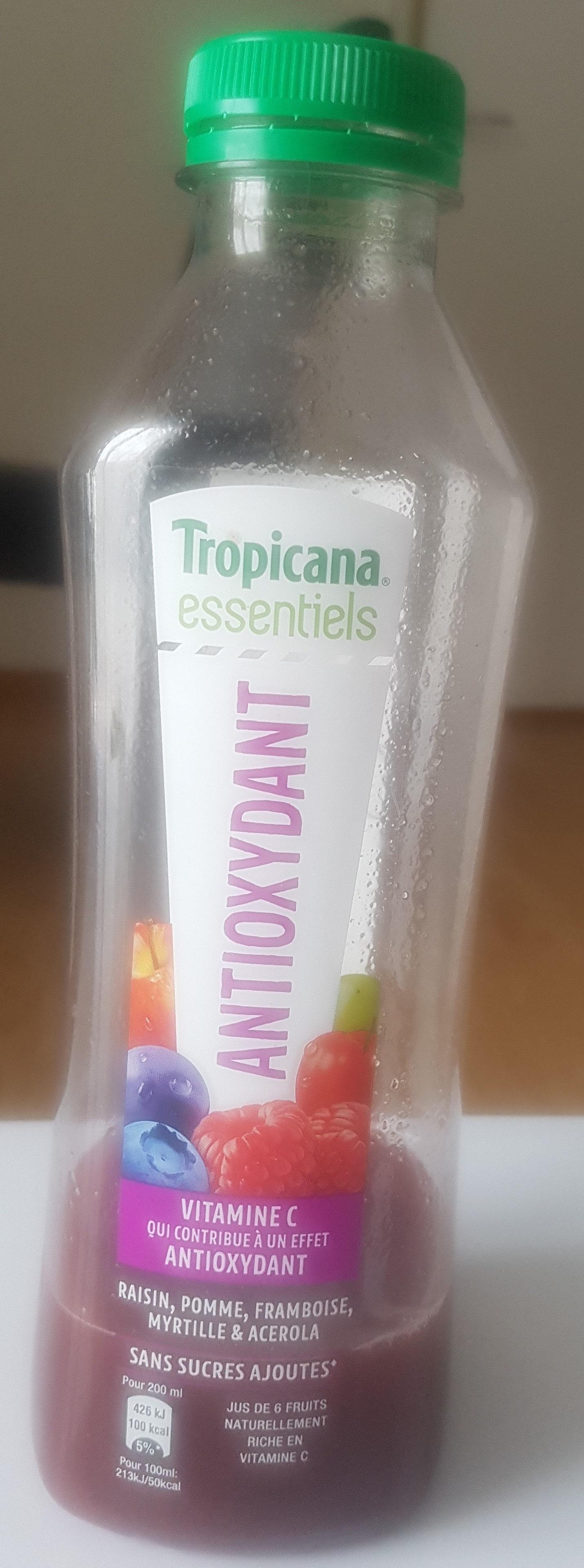 Tropicana essentiels antioxydant - Product - fr