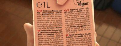 Mandel Reis - Ingrédients - fr