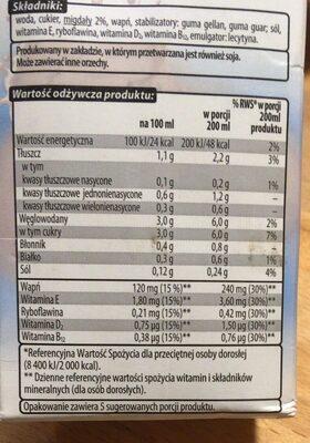Napój migdałowy - Product - pl