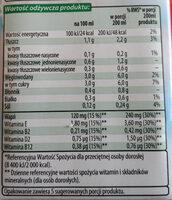 Napój migdałowy - Wartości odżywcze - pl
