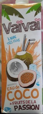 Eau de coco + fruits de la passion - Produit - fr