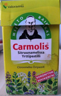 Carmolis Sitruunamelissa Yrttipastilli - Produit