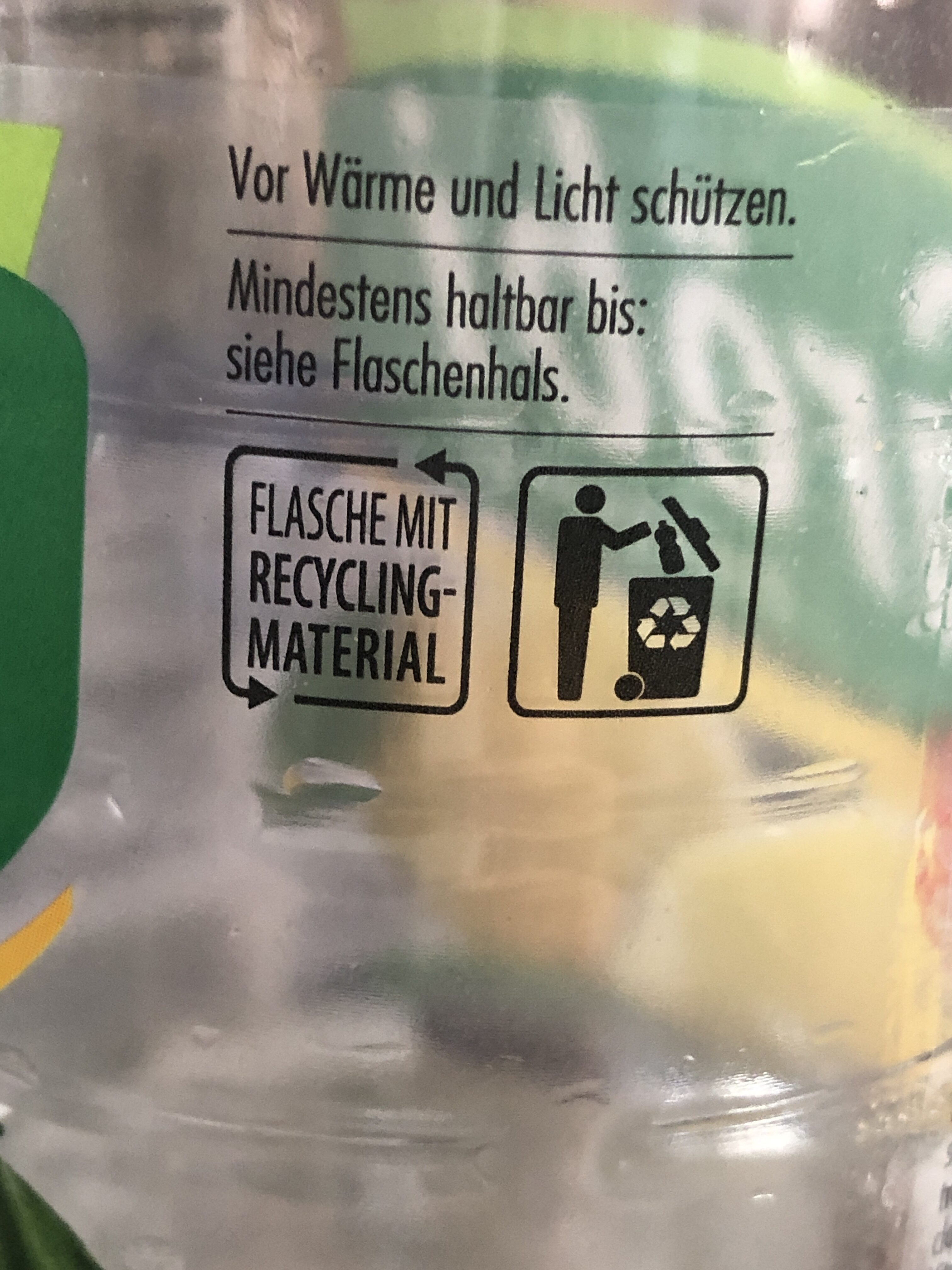 Grœbi Zitrone - Recycling instructions and/or packaging information - de