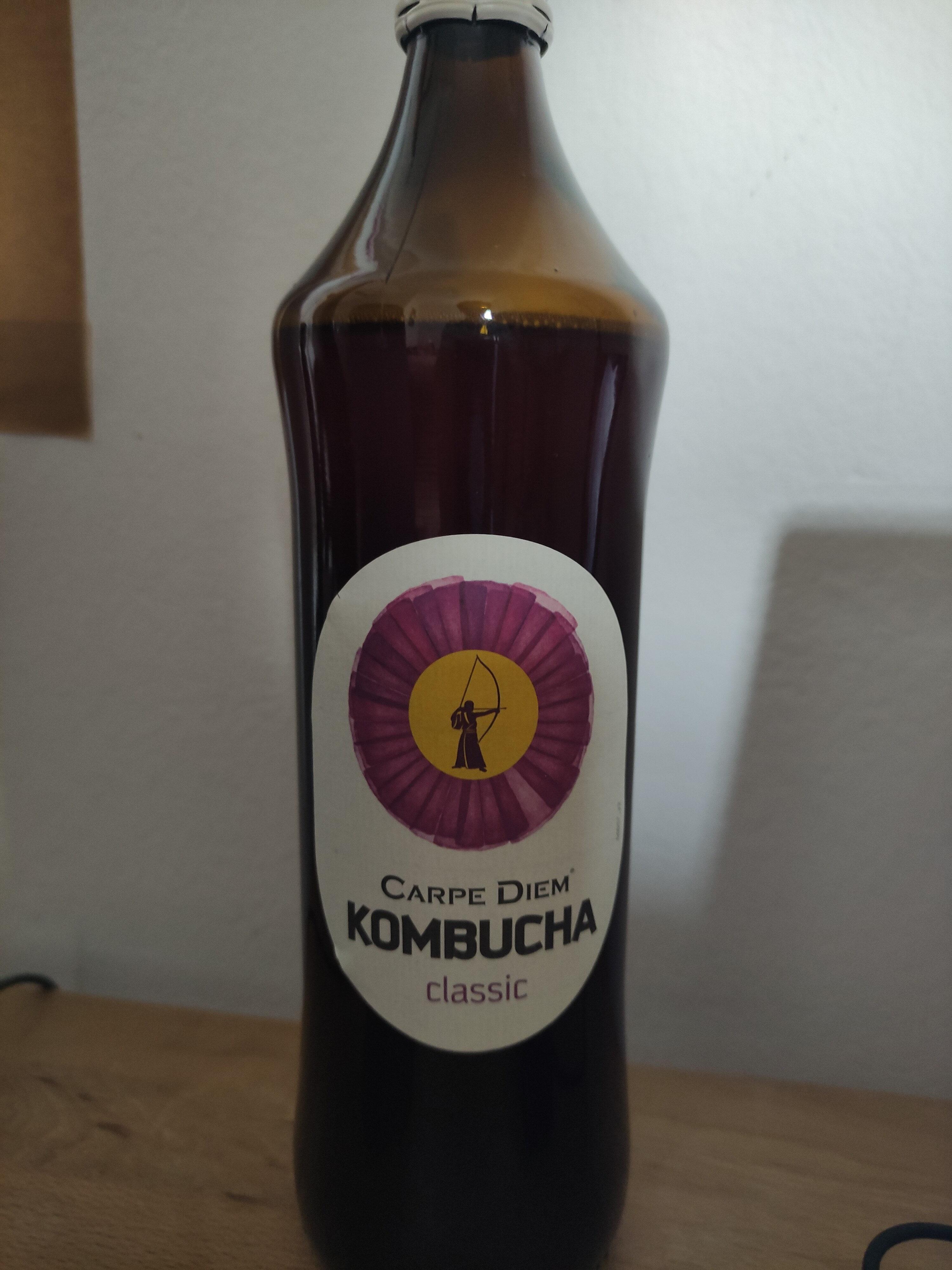 Carpe Diem - Fresh Kombucha Classic - Product - de