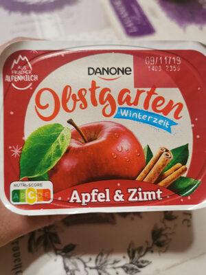 Danone Obstgarten, Winterzauber Apfel & Zimt - Produit