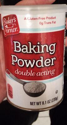 Baker's Corner Baking Powder - Product