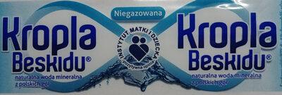 Woda mineralna - Produkt - pl