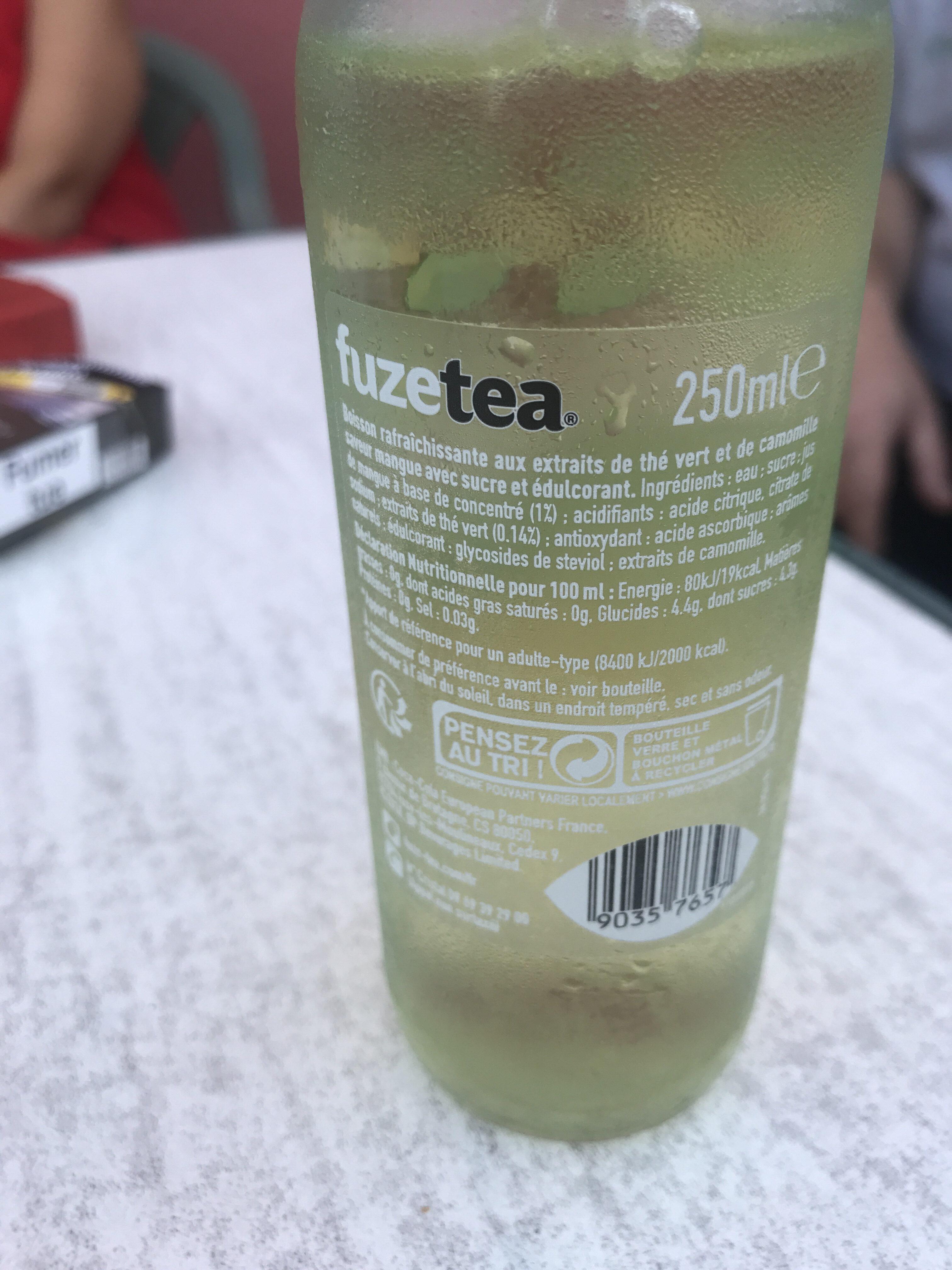 Fuzetea - Voedigswaarden