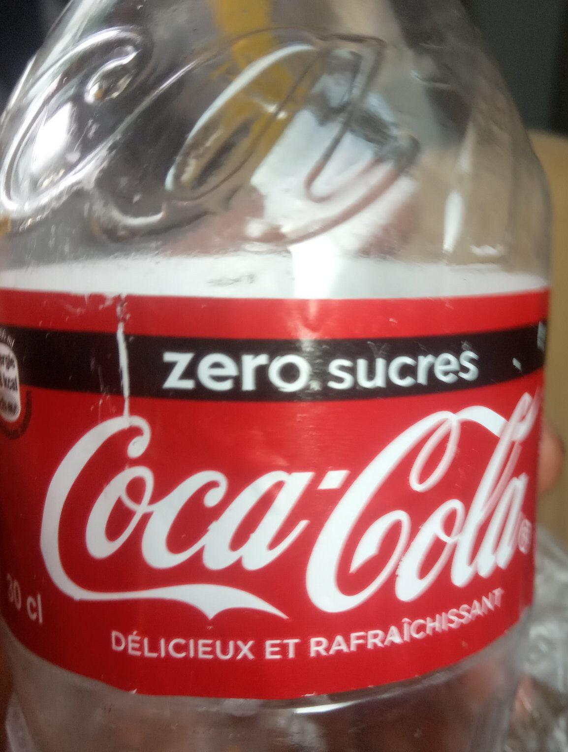 Coca cola zero - Produit - fr