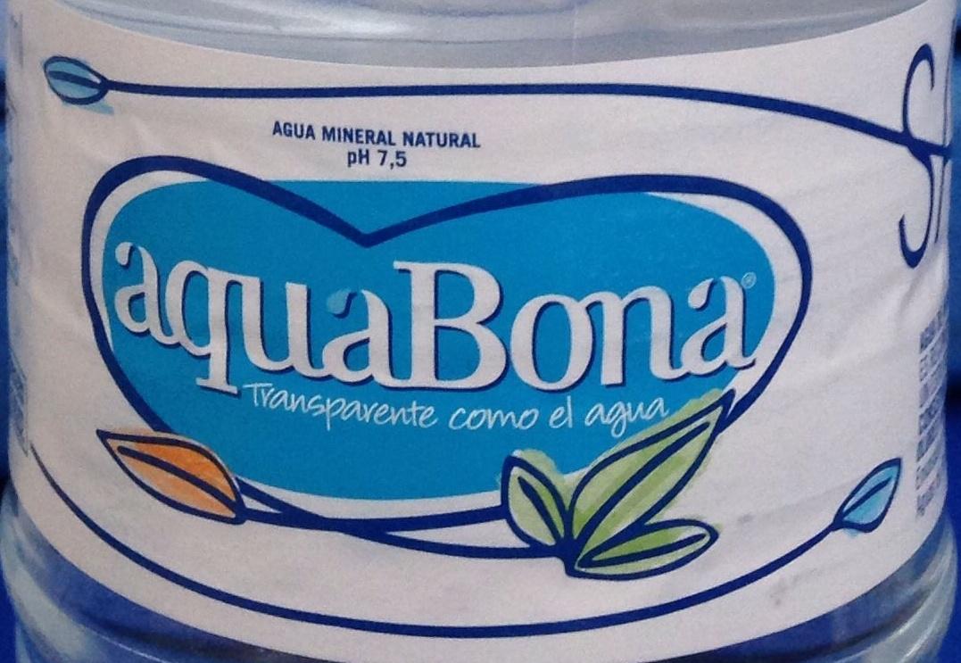 Agua mineral natural - Ingrediënten - es