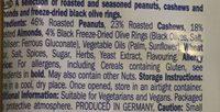 Mediterranean mix with black olive rings - Ingredients