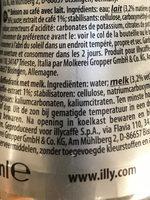 Issimo Latte Macchiato - Ingrediënten