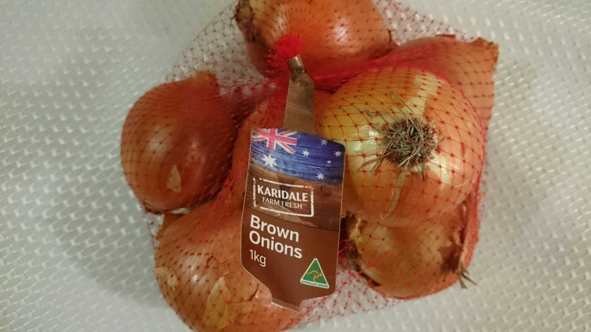 Brown Onions - Produit - en