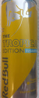 Red Bull Tropical Edition Sugarfree - Product - en