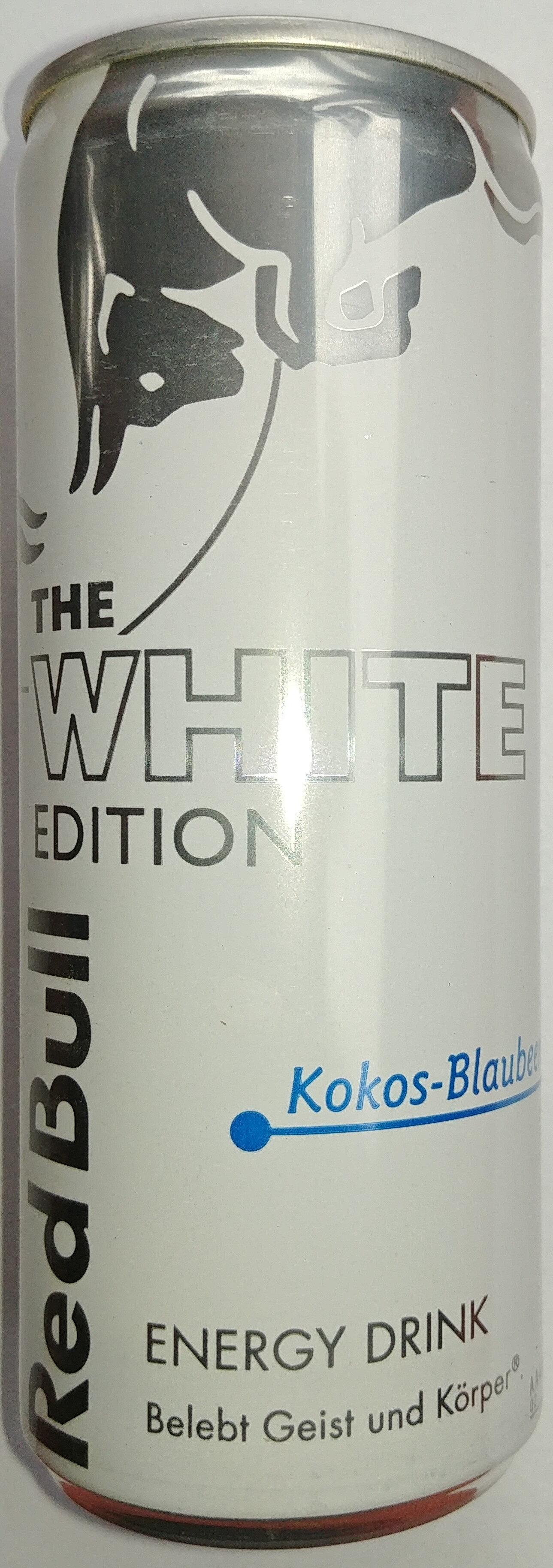 Energy Drink mit dem Geschmack von Kokos Blaubeery - Produkt
