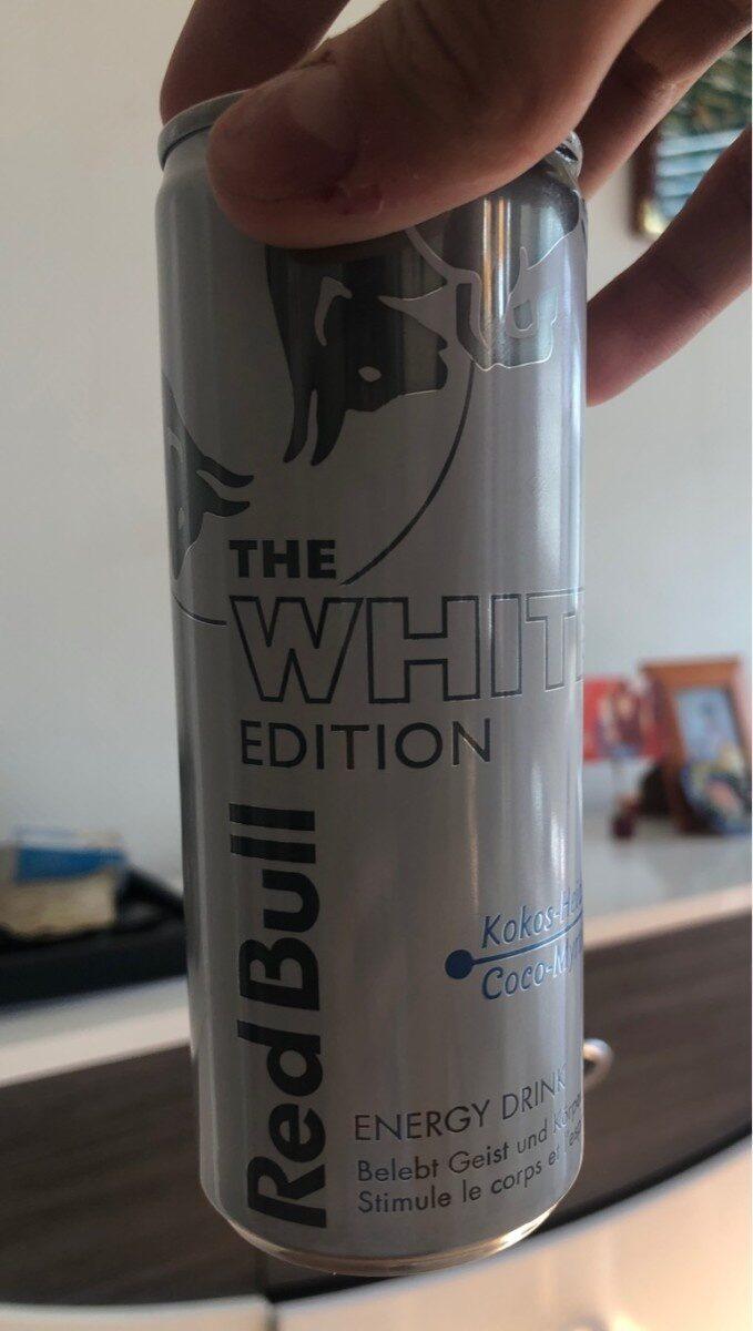 Redbull White Edition - Prodotto - de