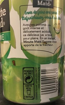 Minute Maid Pomme - Ingredients