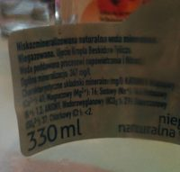 Kropla - Nutrition facts - fr