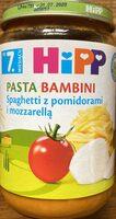 Spaghetti z pomidorami i mozzarellą - Produit - pl
