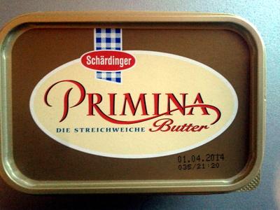 Primina die streichweiche Butter - Produit