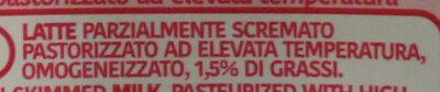 Latte parzialmente scremato - Ingredients - it