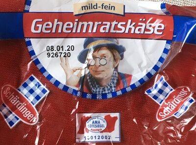 Geheimratskäse - Produit - de