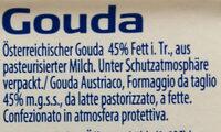 Gouda - Ingrédients - de