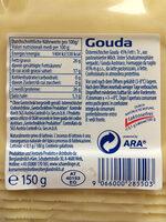 Gouda - Informations nutritionnelles - de