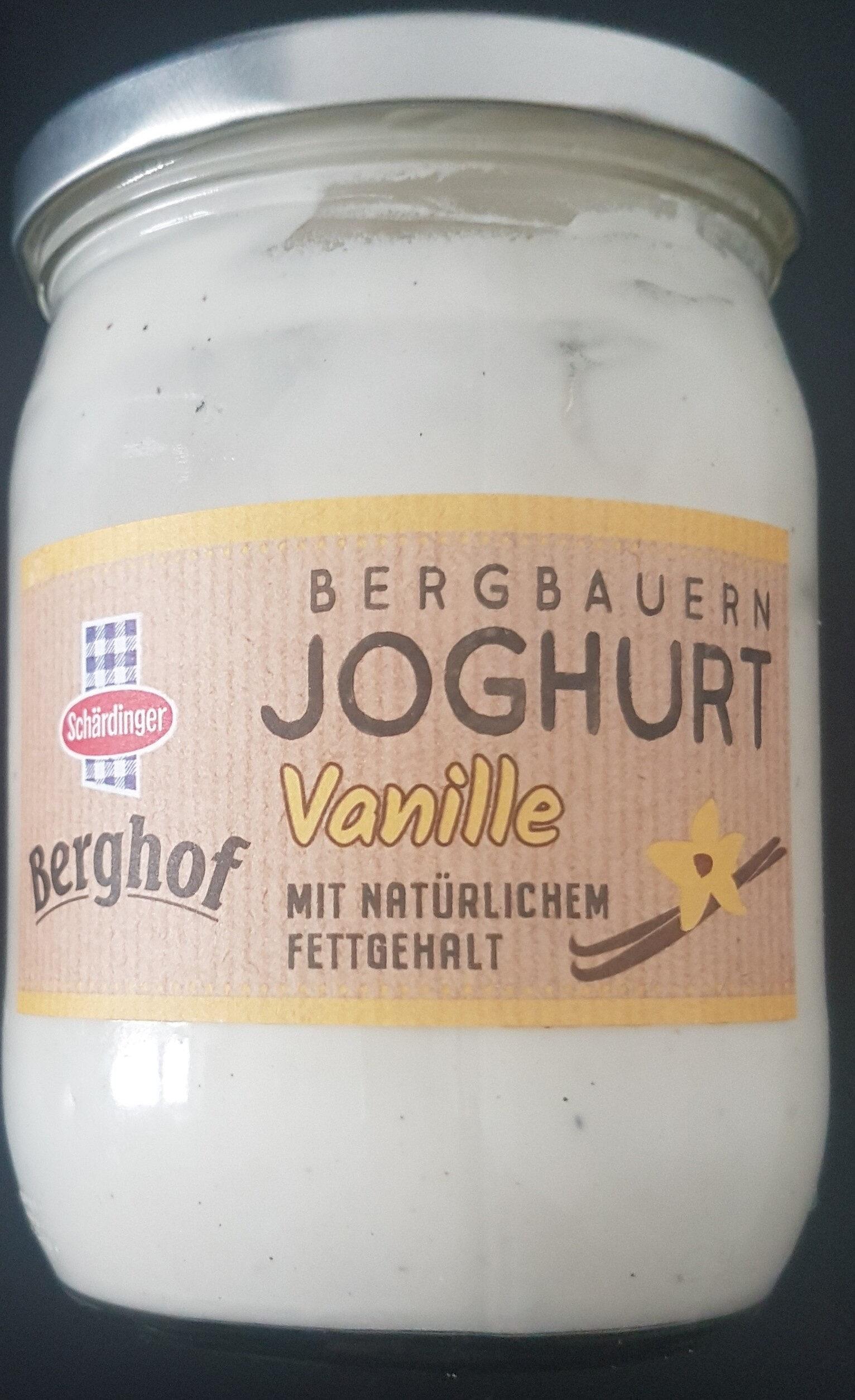 Bergbauern Joghurt Vanille - Product - de