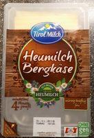 Heumilch Bergkäse - Produkt