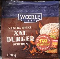 XXL Burger Scheiben - Produit - de