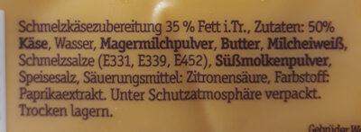 XXL Burger Scheiben - Ingrédients