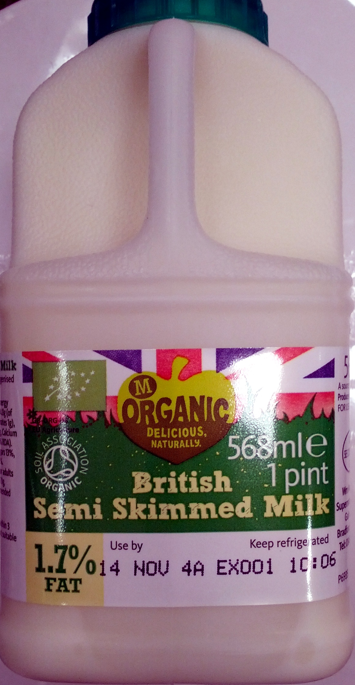 British Semi Skimmed Milk - Produit