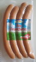 Bio-Frankfurter geräuchert - Produit
