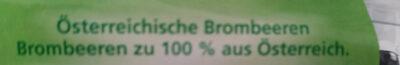 Österreichische Brombeeren - Ingredients