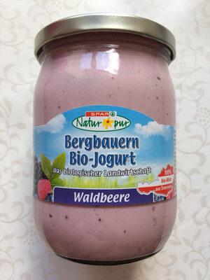 Bergbauern Bio-Jogurt Waldbeere - Product - en